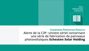 Alerte C2P : PV Scheuten Solar Holding
