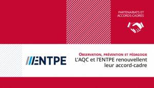 Renouvellement de l'Accord-cadre AQC-ENTPE