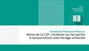 Alerte C2P : paumelles