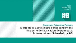 Alerte C2P : PV Solar-Fabrik