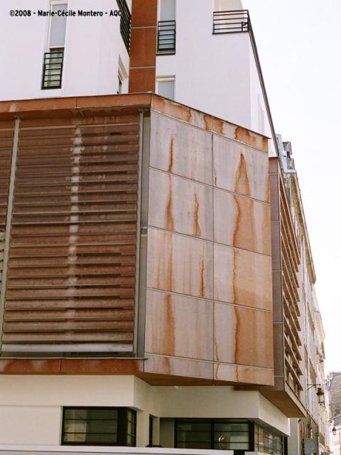 Absence d'entretien de la façade