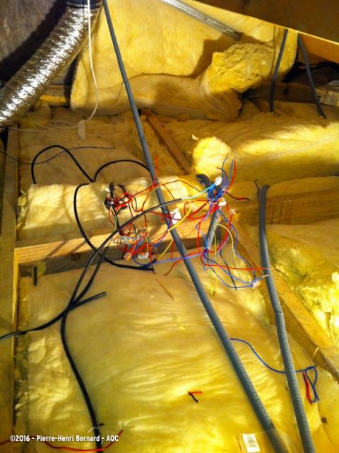 Installation électrique non conforme