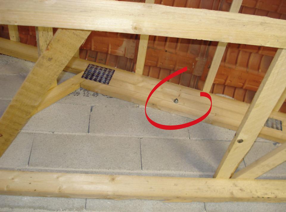 Charpente en maison individuelle - Agence Qualité ConstructionAgence Qualité Construction