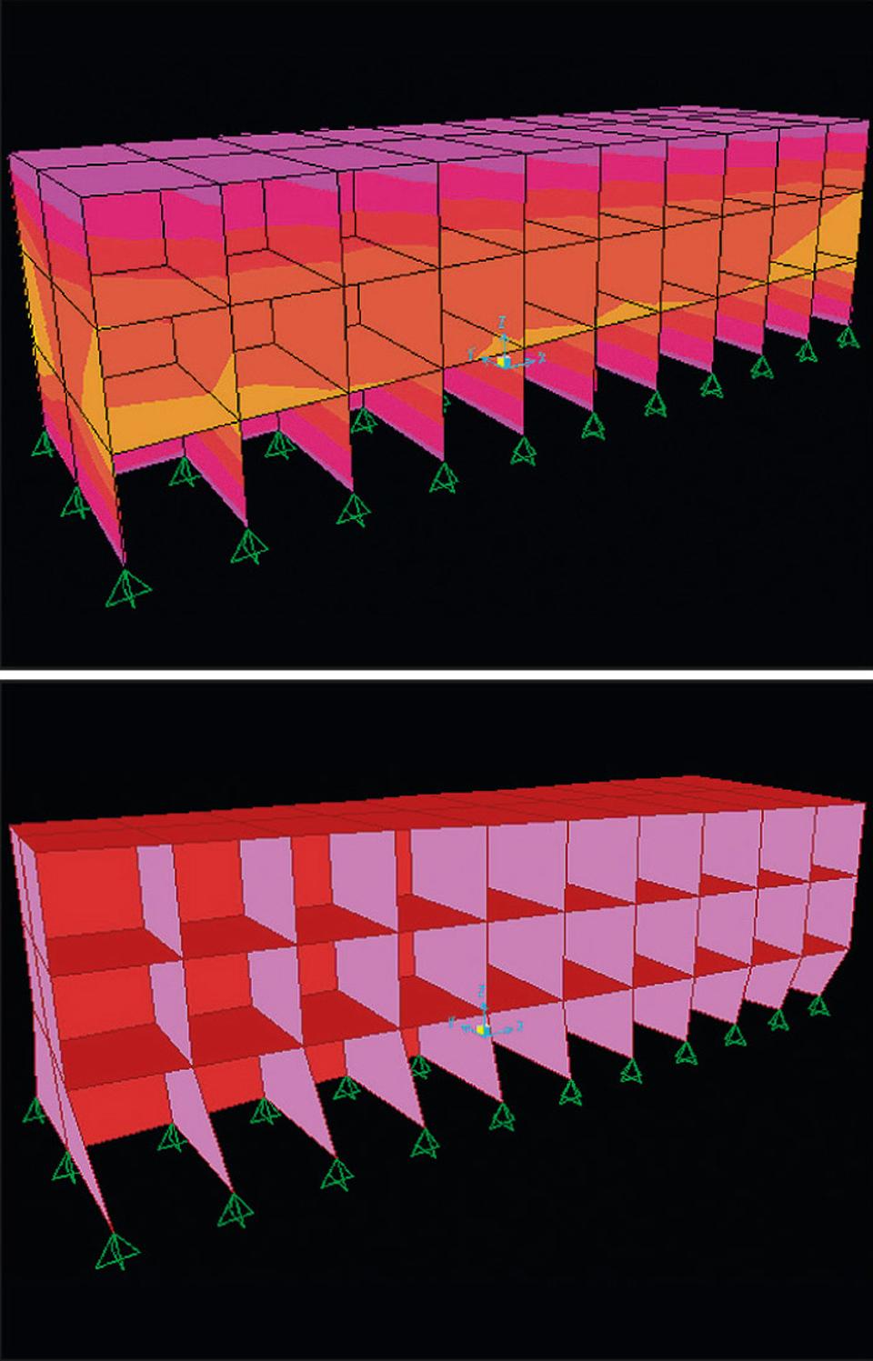 Exemple de calcul sismique et modélisation d'un bâtiment pour dimensionnement à l'Eurocode 8