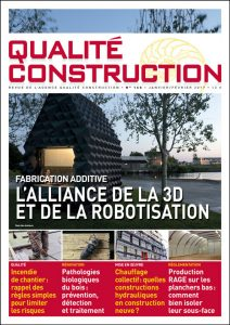 Fabrication additive – L'alliance de la 3D et de la robotisation