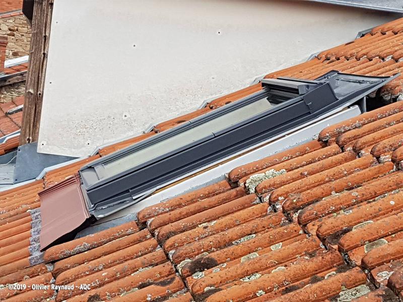 Mauvaise mise en oeuvre d'un châssis de toit