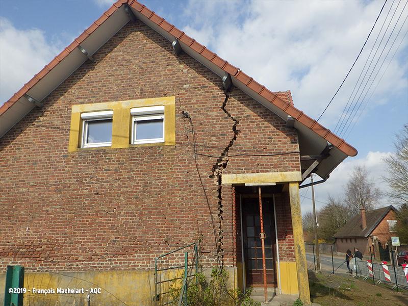 Fissuration en façade