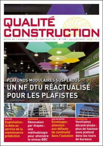 Plafonds modulaires suspendus – Un NF DTU réactualisé pour les plafistes