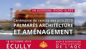 Palmarès Architecture et aménagement 2019