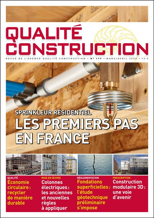 Sprinkleur résidentiel – Les premiers pas en France