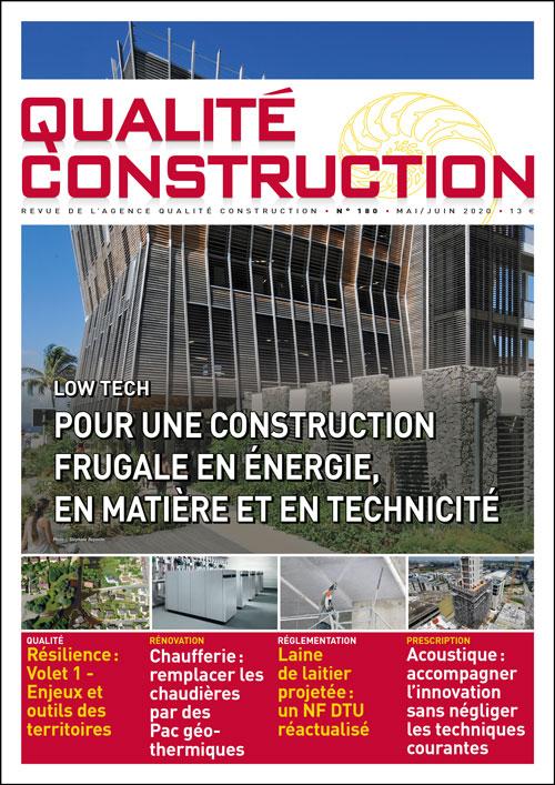 Low Tech – Pour une construction frugale en énergie, en matière et en technicité