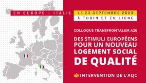 Colloque transfrontalier A2E