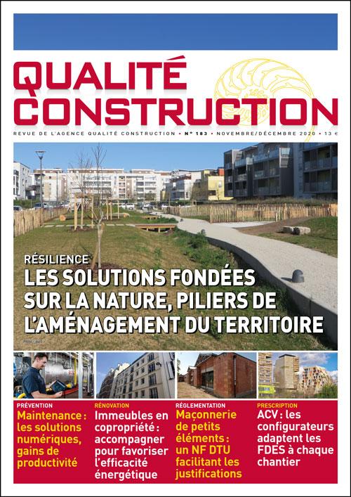 Résilience – Les Solutions fondées sur la nature, piliers de l'aménagement du territoire