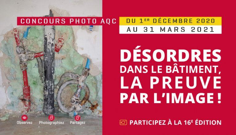 Participez à notre Concours Photo sur les désordres dans le bâtiment !