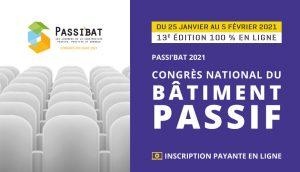 Congrès Passi'Bat 2021 : édition en ligne du RDV des spécialistes du passif