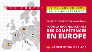 Train4Sustain (T4S) : le projet pour la reconnaissance des compétences en Europe