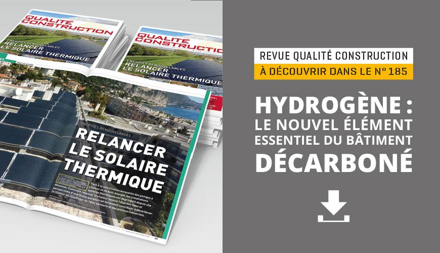 Hydrogène : le nouvel élément essentiel du bâtiment décarboné