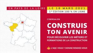 Métiers et formations de la construction au cybersalon «Construis ton avenir»