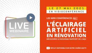 Éclairage artificiel en rénovation : le nouveau Rapport du Dispositif REX BP®