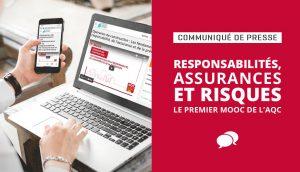 Responsabilités, assurances, risques : le premier MOOC de l'AQC