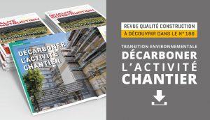 Transition environnementale : décarboner l'activité chantier