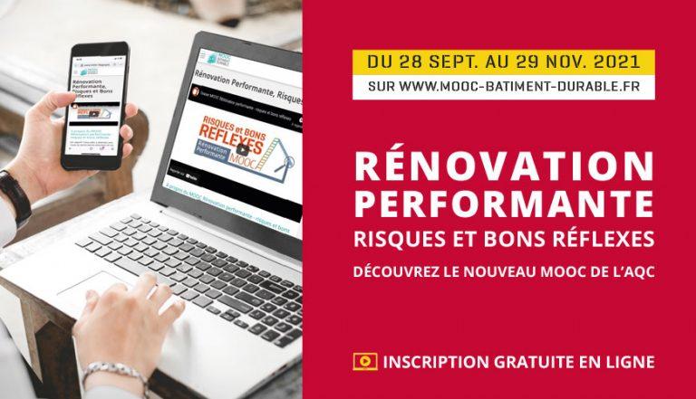 Rénovation performante – risques et bons réflexes : le nouveau MOOC de l'AQC
